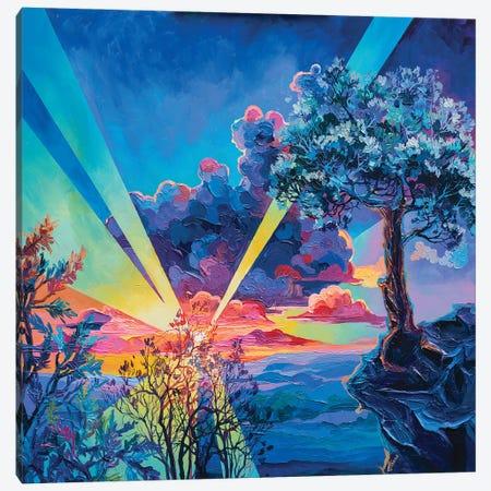 valley of the sun 3-Piece Canvas #TVA73} by Anastasia Trusova Canvas Wall Art