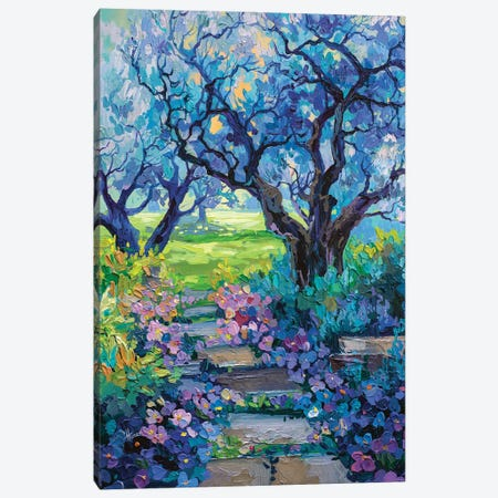 park path Canvas Print #TVA75} by Anastasia Trusova Canvas Print