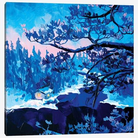 Christmas Eve Canvas Print #TVA7} by Anastasia Trusova Art Print