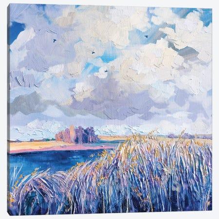 Lingering Autumn Canvas Print #TVA89} by Anastasia Trusova Canvas Print