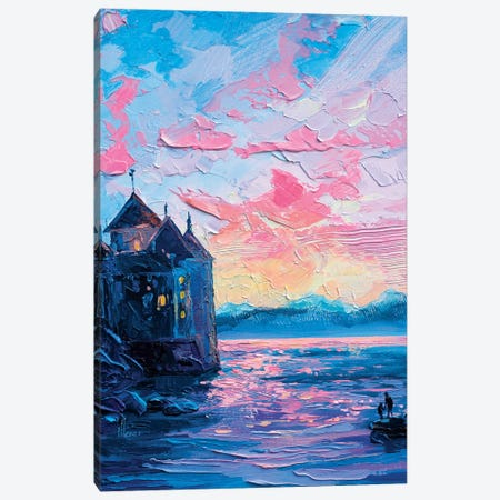 Soft Sunset Canvas Print #TVA94} by Anastasia Trusova Canvas Art Print