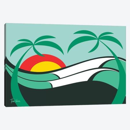 Coqueiros Canvas Print #TVE11} by Tom Veiga Canvas Artwork