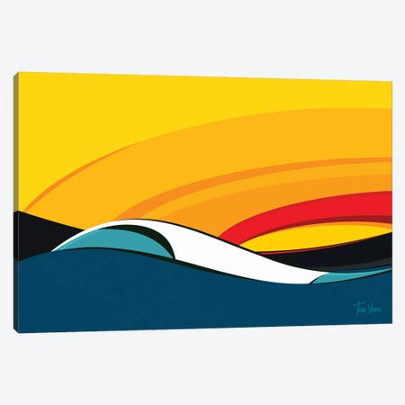 Costão Do Santinho Canvas Print #TVE12} by Tom Veiga Canvas Art