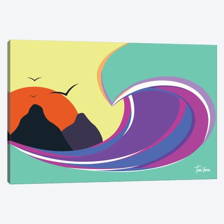 Fernando De Noronha Canvas Print #TVE13} by Tom Veiga Canvas Art