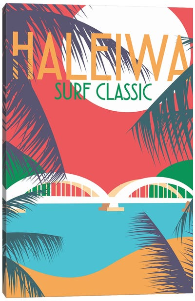 Haleiwa Canvas Art Print