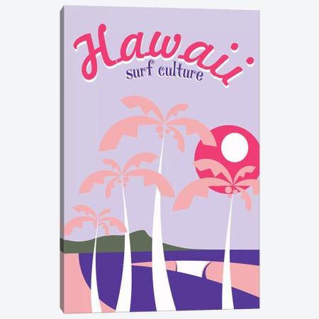 Hawaii Surf Culture Canvas Print #TVE16} by Tom Veiga Canvas Art Print
