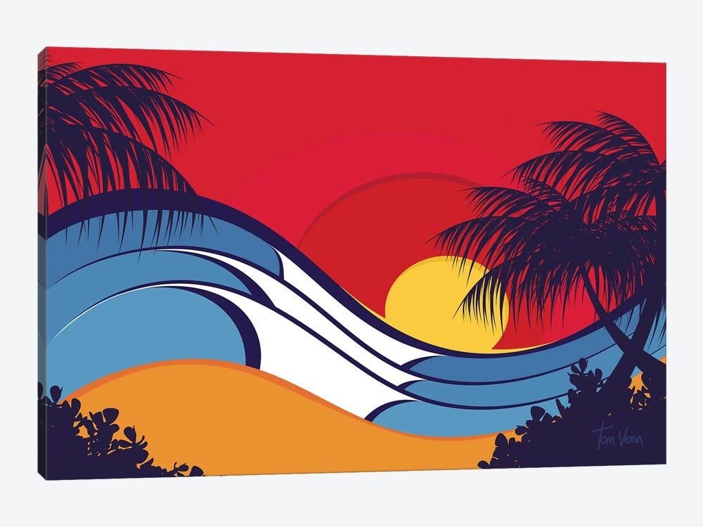 Hawaii Waves by Tom Veiga 1-piece Canvas Wall Art