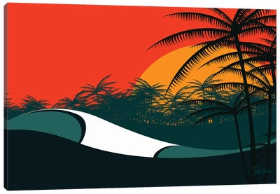 Indonesia Canvas Art Print