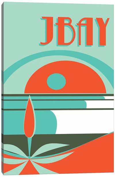 Jbay Canvas Art Print