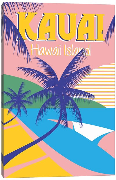 Kauai Canvas Art Print