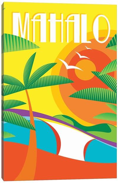 Mahalo Canvas Art Print