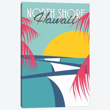 North Shore Canvas Print #TVE25} by Tom Veiga Canvas Art