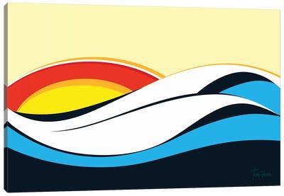 Ondas De Imbituba Canvas Art Print