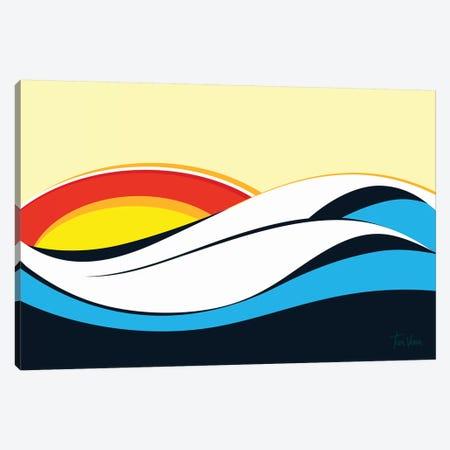Ondas De Imbituba Canvas Print #TVE26} by Tom Veiga Canvas Art