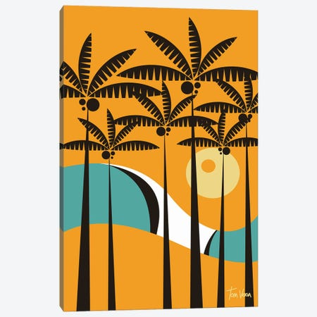 Palmeira Canvas Print #TVE27} by Tom Veiga Canvas Art
