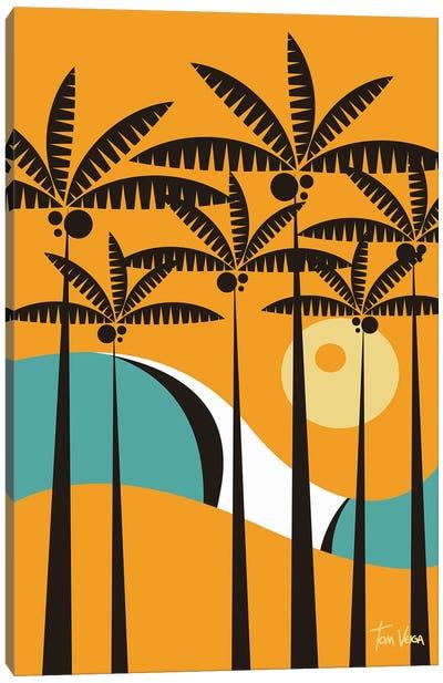 Palmeira Canvas Art Print