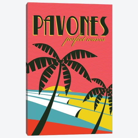 Pavones Canvas Print #TVE28} by Tom Veiga Canvas Art Print