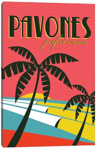 Pavones Canvas Art Print