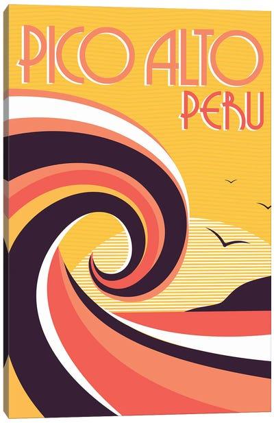 Pico Alto Peru Canvas Art Print