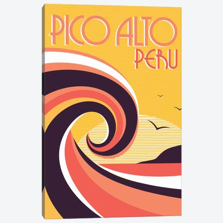 Pico Alto Peru Canvas Print #TVE29} by Tom Veiga Art Print