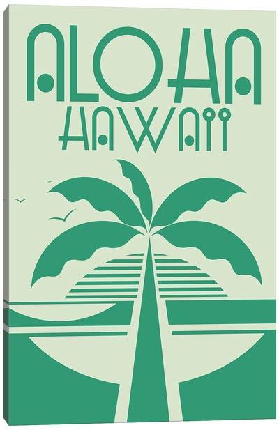 Aloha Hawaii Canvas Art Print