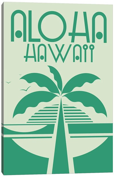 Aloha Hawaii Canvas Art Print