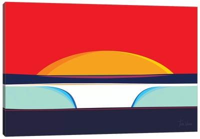Pipeline Canvas Art Print