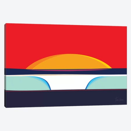 Pipeline Canvas Print #TVE30} by Tom Veiga Canvas Wall Art