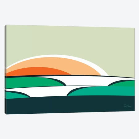 Praia Do Rosa Canvas Print #TVE34} by Tom Veiga Art Print