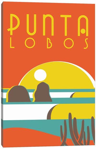 Punta Lobos Poster Canvas Art Print