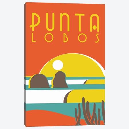 Punta Lobos Poster Canvas Print #TVE35} by Tom Veiga Canvas Print