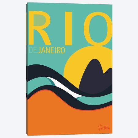 Rio De Janeiro Canvas Print #TVE36} by Tom Veiga Canvas Art Print