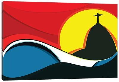 Rio Surf Canvas Art Print