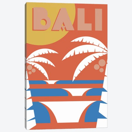 Bali Canvas Print #TVE3} by Tom Veiga Canvas Artwork
