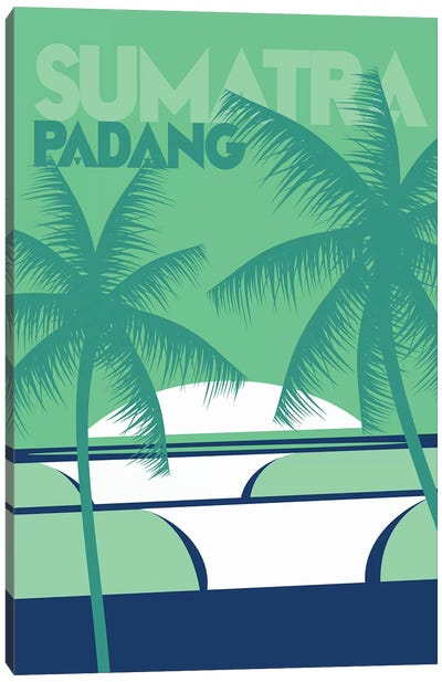 Sumatra Padang Canvas Art Print