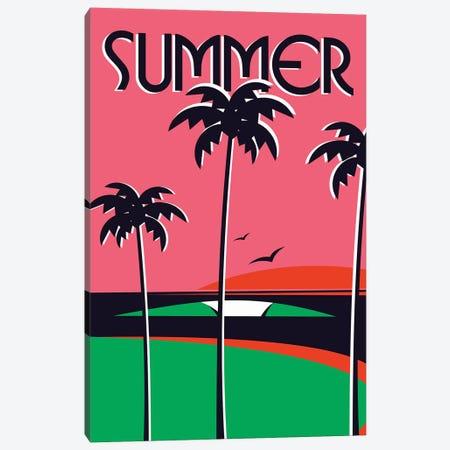 Summer Canvas Print #TVE43} by Tom Veiga Canvas Print
