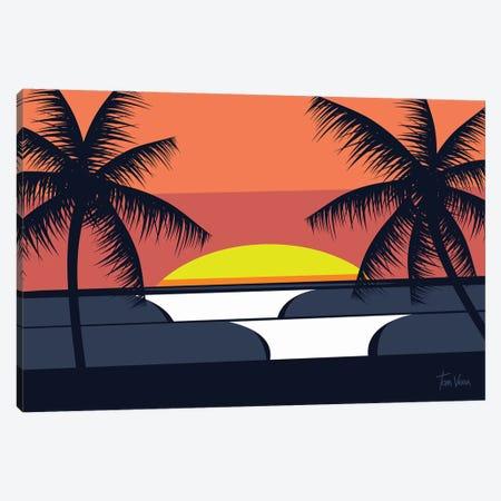 Sun Good Canvas Print #TVE44} by Tom Veiga Canvas Wall Art