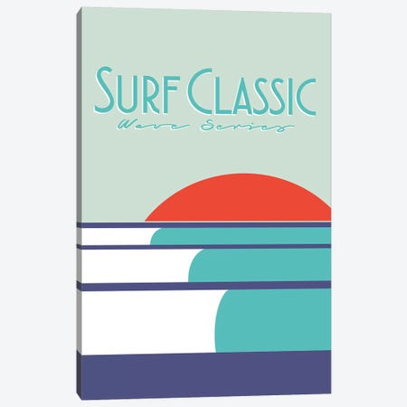 Surf Classic Canvas Print #TVE47} by Tom Veiga Canvas Art