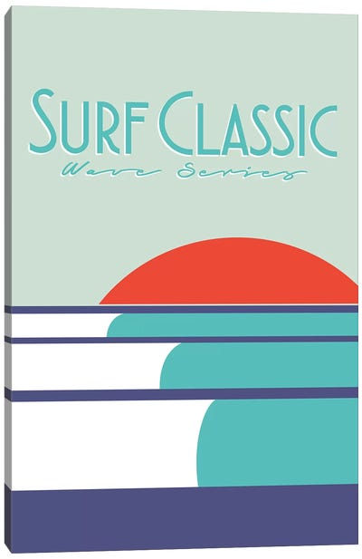 Surf Classic Canvas Art Print