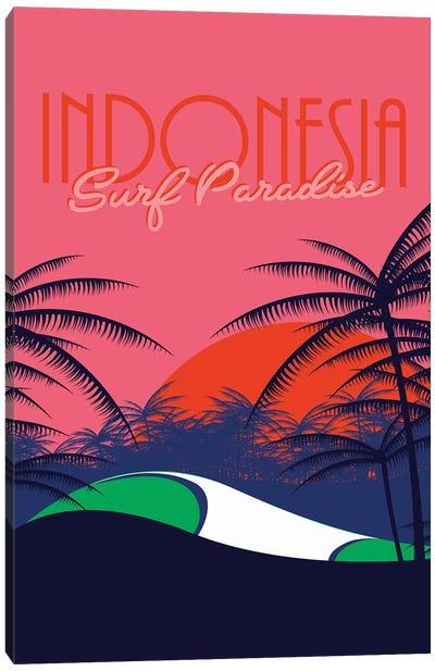 Surf Paradise Canvas Art Print