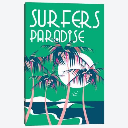 Surfers Paradise Canvas Print #TVE51} by Tom Veiga Canvas Artwork