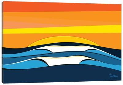 Trestles Canvas Art Print