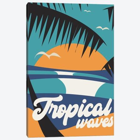 Tropical Canvas Print #TVE56} by Tom Veiga Art Print