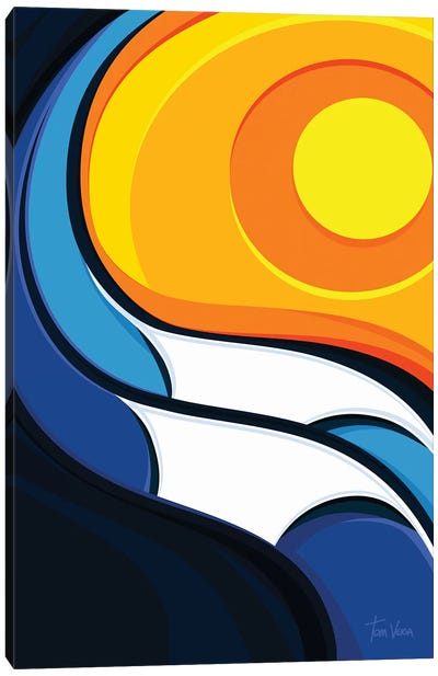 Ubatuba Canvas Art Print