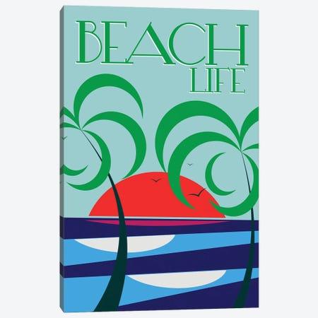 Beach Life Canvas Print #TVE5} by Tom Veiga Canvas Art Print