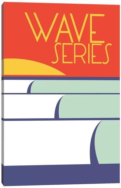 Wave Series Canvas Art Print
