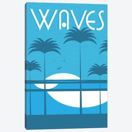 Waves Canvas Print #TVE64} by Tom Veiga Canvas Art