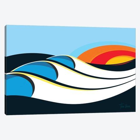 Bells Beach Canvas Print #TVE67} by Tom Veiga Canvas Artwork