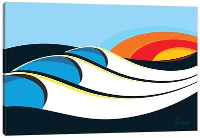 Bells Beach Canvas Art Print