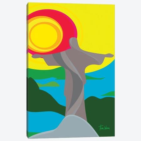 Cristo Redentor Canvas Print #TVE68} by Tom Veiga Art Print